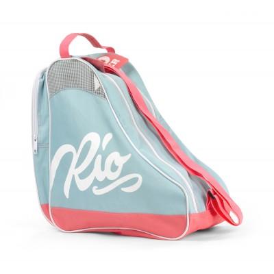 Сумка для роликов Rio Roller Script Skate Bag Teal в магазине Rollbay.ru
