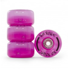 Колеса для квадов Rio Roller LIght Up Wheels 58x33mm/82A Pink  4-pack