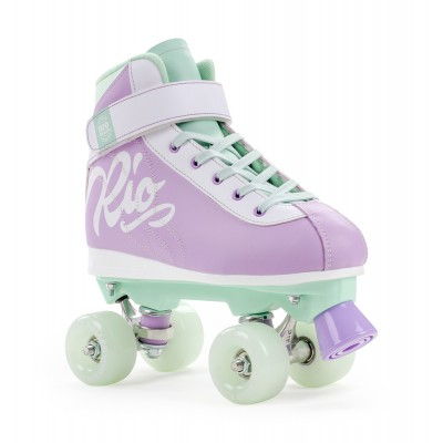 Ролики квады Rio Roller Milkshake Purple/Green в магазине Rollbay.ru
